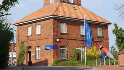 Der Telegraph in Brake, Teil des Schifffahrtsmuseums Unterweser