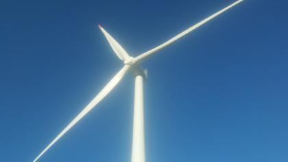 Random windmill along the way