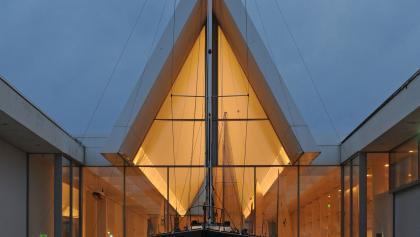 Die Hochseeyacht DIVA im Deutschen Schifffahrtsmuseum
