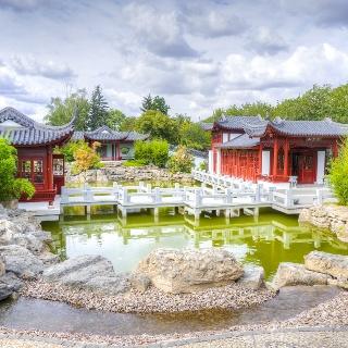 Chinesischer Garten -  Weißensee