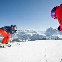 Skifahren im sonnenverwöhnten Gröden