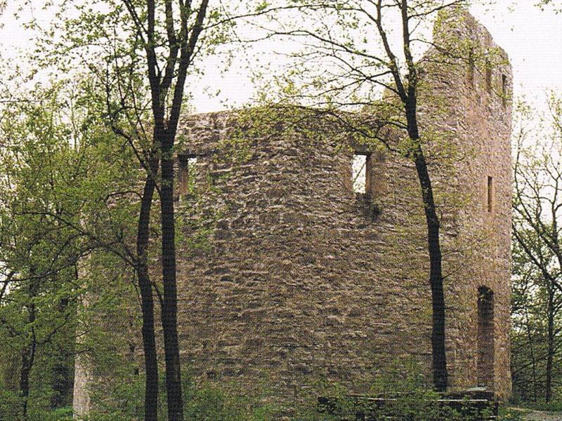 Ruine Geyersburg  - @ Autor: Beate Philipp  - © Quelle: Gemeinde Untermünkheim
