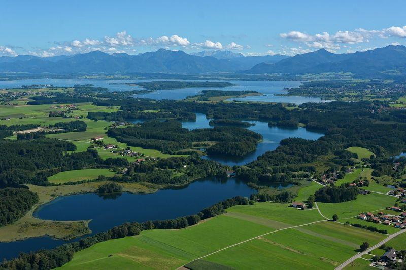 Wandern zwischen Pelhamer See und Hartsee