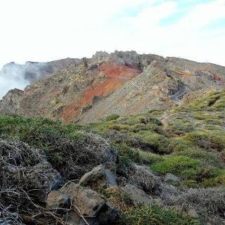 Bijna aan Roque de los Muchachos