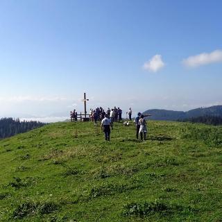 Gipfelkreuz am Lippekogel