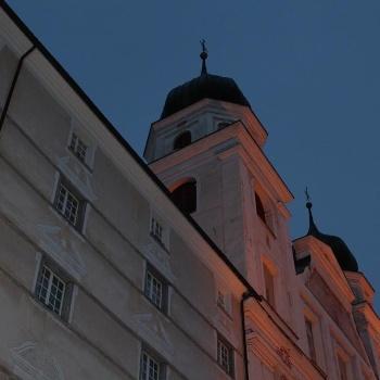Das Kloster bietet auch Obdach für Gäste
