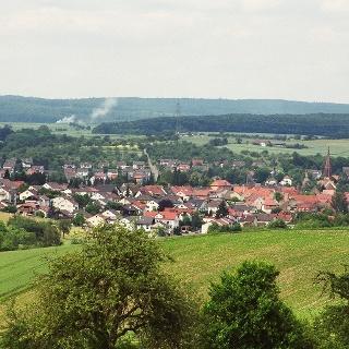 Blick auf Waibstadt