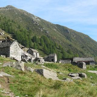 Berghütte Alpe Nimi