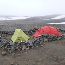 Camping auf Hrafntinnusker