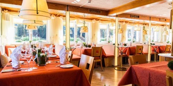 Alpenhotel Küren Blick ins Restaurant