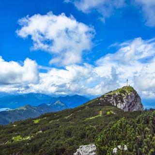 Gipfelbereich der Benediktenwand (1801 m)