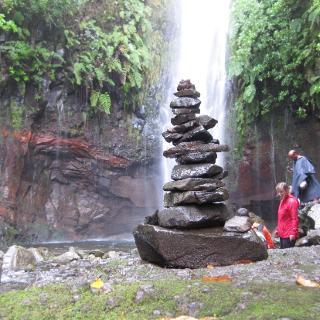 Der 25. Wasserfall auf dieser Wanderung