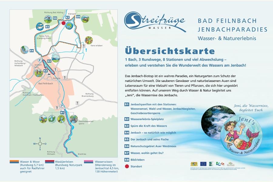 Jenbachparadies Wasser und Moor