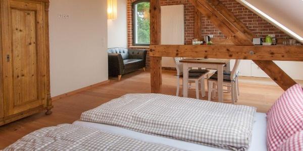 Zimmer im Hotel Turmschule Niederböhmersdorf