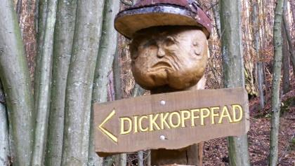 Los gehts, auf zum Dickkopfpfad