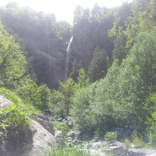 Valbona Waterfall