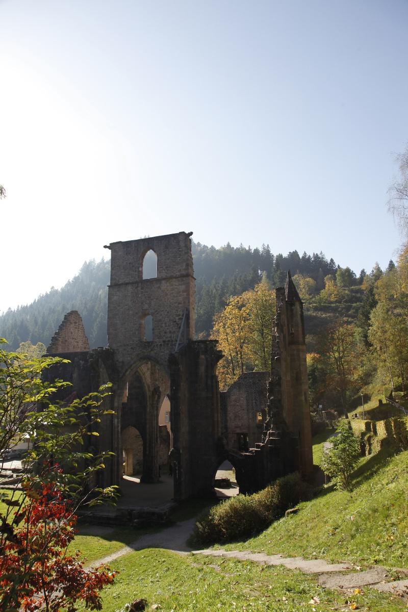 Ottenhöfen im Schwarzwald - Ritter- und Mönche-Tour