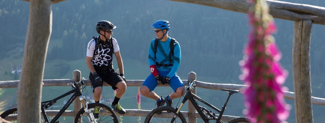 Mit dem Mountainbike unterwegs in Baiersbronn