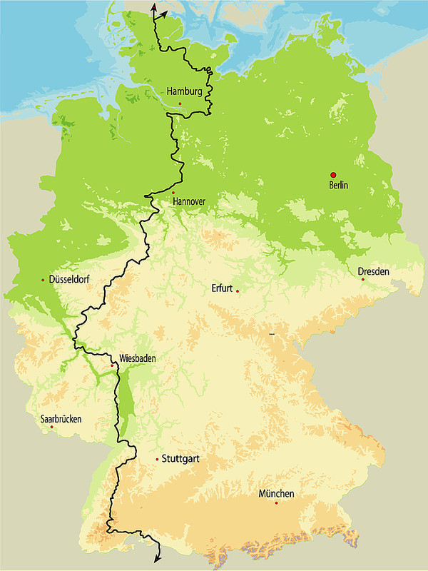 Europaischer Fernwanderweg E1 Urlaubsland Baden Wurttemberg