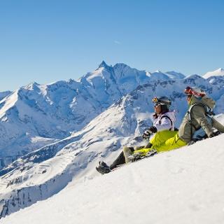 Panoramablick im Skigebiet Heiligenblut