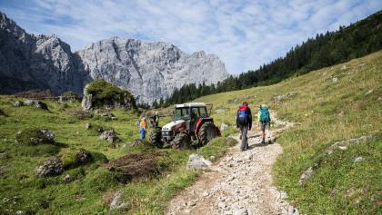 Von der Lamsenjochhütte zur Falkenhütte