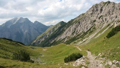 Von der Falkenhütte zum Karwendelhaus