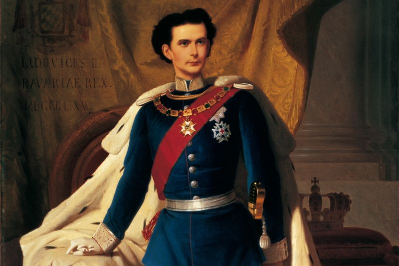 Gemälde König Ludwig II von Ferdinand Piloty