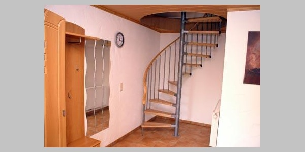 Treppenaufgang - FEWO 3 Pers.