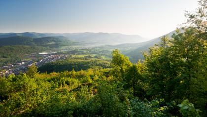 Aussicht von der Burg Trifels
