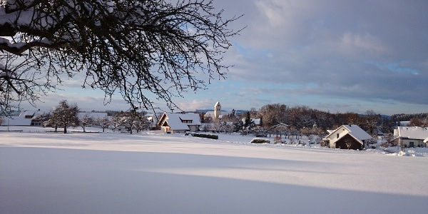 Eglofs im Winter