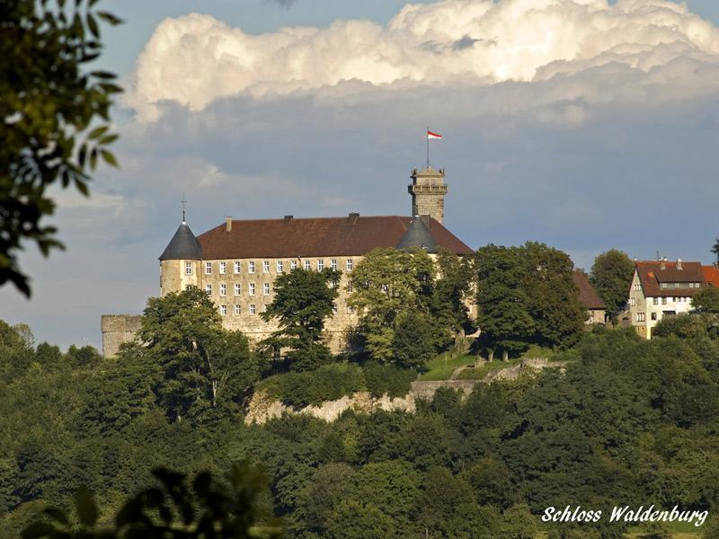 Schloss Waldenburg  - @ Autor: Beate Philipp  - © Quelle: Stadt Waldenburg