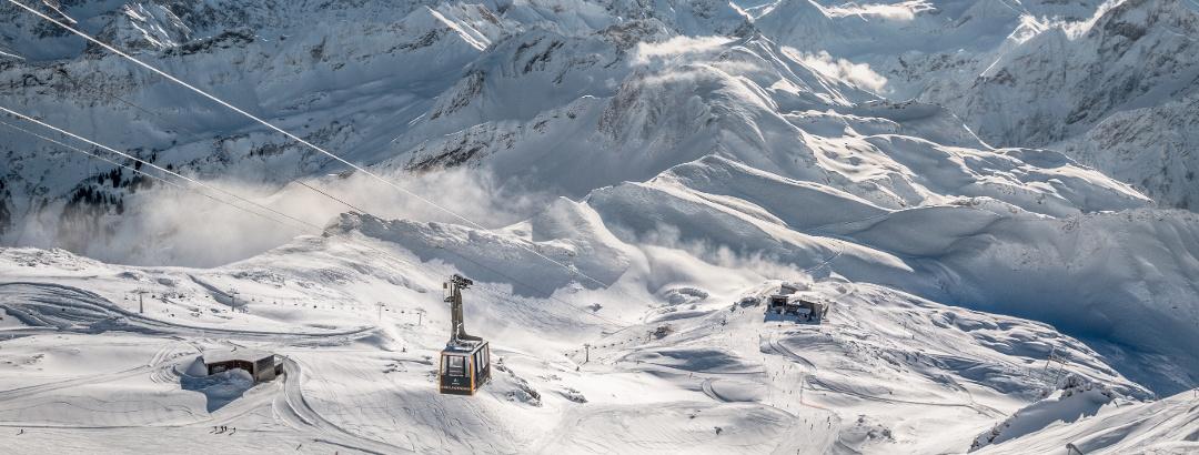 Das Skigebiet Fellhorn