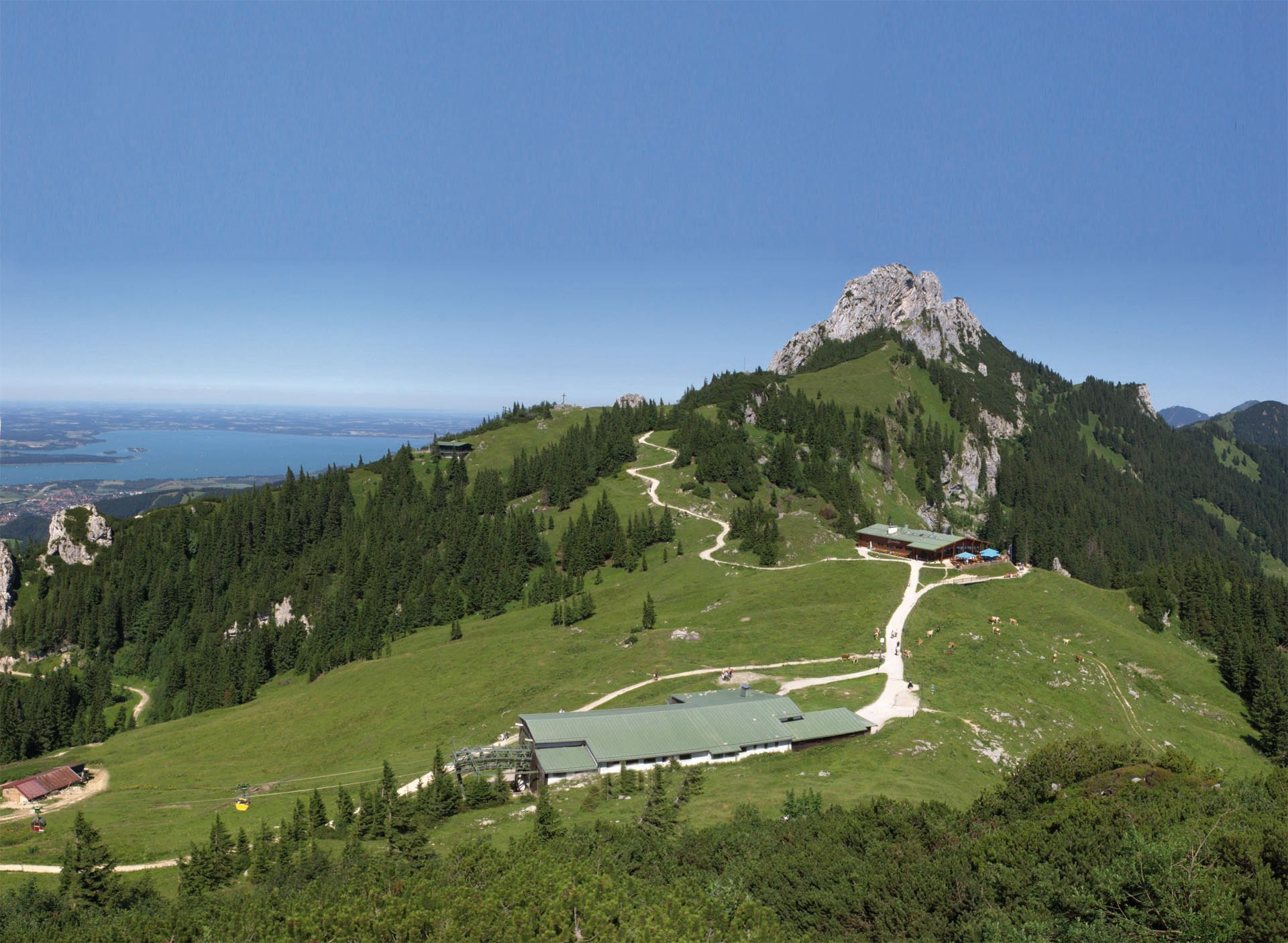 Bergstation der Kampenwandseilbahn
