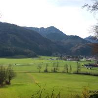 Blick von Hasling nach Bergen