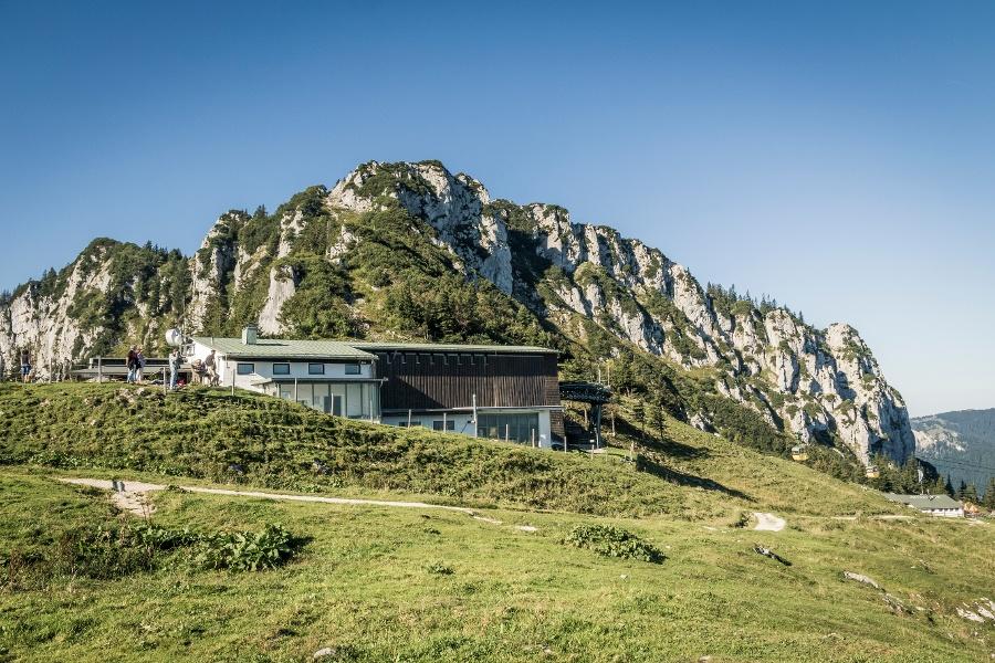 Kampenwand: Bergstation – Talstation (über Hofbauernalm)