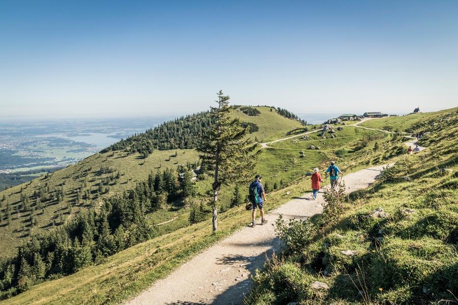 Rundweg Bergstation: LOWA-Teststrecke