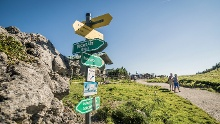 Kampenwand: Bergstation – Talstation