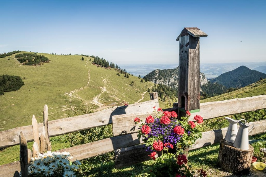 Kampenwand: Bergstation – Talstation (über Sulten)