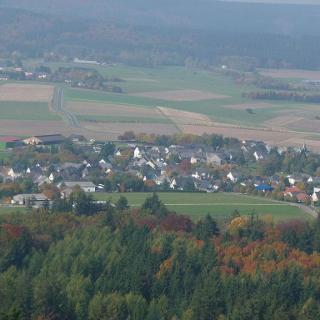 Kempfeld - Bruchweiler - Schauren - Von der Wildenburg aus - 11.10.08
