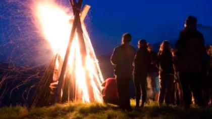 Sonnwendfeuer auf der Gleiwitzer Hütte
