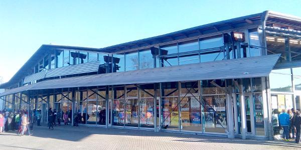 km 0,0 / Start + Ziel: Kulturhalle Remchingen