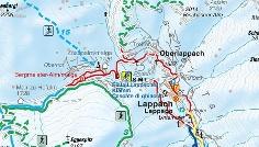 Snowshoe hike Passenalmen Lappago/Lappach