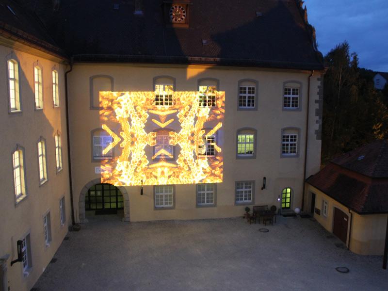 Das Schloss Untergröningen beherbergt neben dem Heimatverein und seinem Museum die Kirche mit dem Hochaltar und der Wallfahrtsmadonna sowie den Verein Kunst im Schloss KISS.  - @ Autor: Beate Philipp  - © Quelle: Gemeinde Abtsgmünd