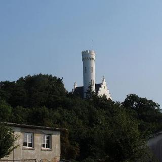 Blick zum Schloß Lietzow