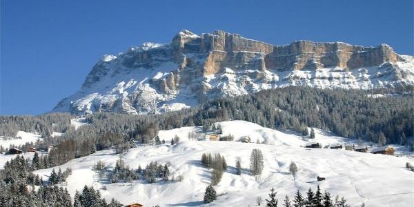 Panorama invernale