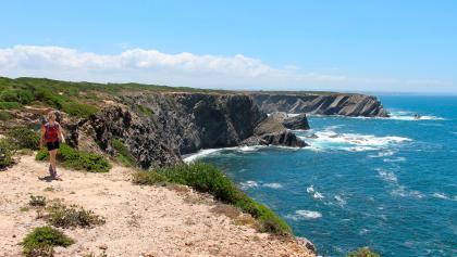 Entlang der Steilküste zum Kap Sardão (7133)