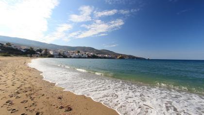 Strand von Andros Chora (7921-7923)