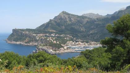Die Bucht von Port de Sóller (7306)