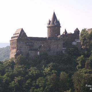 Mittelrhein: Burg Stahleck bei Bacharach