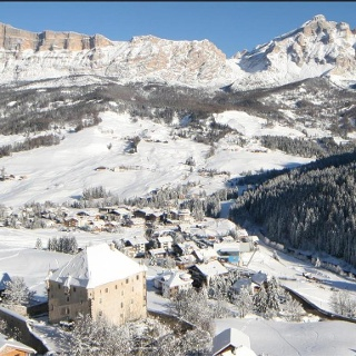 Winter walk La Villa - Ruac - Corvara